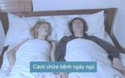 Cách hạn chế ngáy khi ngủ