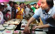 Độc đáo bánh Lang Liêu ngày Giỗ Tổ