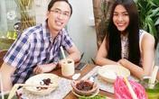 Bữa tối hấp dẫn của vợ chồng Hà Tăng