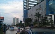 Tạnh mưa nửa ngày, Keangnam vẫn ngập
