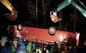 Tai nạn lật xe khách ở Lào Cai là do xe mất phanh?