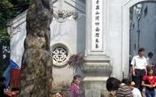 Thăng trầm cột đá thề đền Hùng
