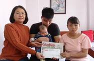 Bé gái 3 tháng tuổi của đôi vợ chồng mù nguy cơ hỏng hai mắt
