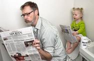 Những bức ảnh cha và con gái nhỏ cực đáng yêu