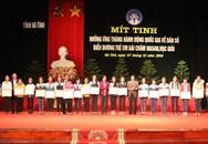 Hà Tĩnh biểu dương các trẻ em gái chăm ngoan, học giỏi nhân Tháng Hành động Quốc gia về Dân số năm 2014