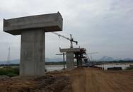 Cây cầu mơ ước của người dân Quảng Nam dần hoàn thiện