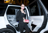 Linh Chi mượn xe 8 tỷ của Ngọc Trinh đi sự kiện