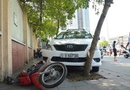 Tài xế taxi đột tử sau khi đâm 2 xe máy