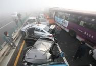 2 người Việt bị thương trong vụ tông xe liên hoàn ở Hàn Quốc