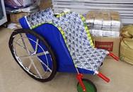Xe lăn, đồ lót Victoria's Secret bằng giấy cho người cõi âm