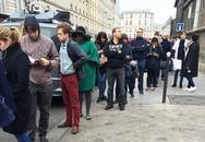 Xếp hàng tình nguyện hiến máu và chuyện tình người Pháp trong cơn hoạn nạn