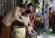 Cận cảnh lễ gột rửa trước đám cưới của con trai Tổng thống Indonesia
