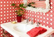 Cách trang trí đẹp khiến phòng tắm luôn tươi mới