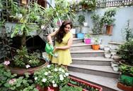 Vườn nhỏ rực rỡ sắc hoa của ca sĩ Bảo Trâm Idol