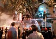Hà Nội: Cháy lớn nhà 4 tầng trên phố cổ