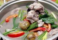 Ngày hanh hao nấu canh sườn sấu chua