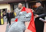 Nghê Việt thay thế sư tử ngoại lai ở khu di tích
