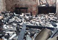 """Hà Nội: Nổ cơ sở sang chiết gas, lửa bao trùm khu nhà """"ổ chuột"""""""