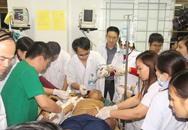 Sập giàn giáo kinh hoàng ở Hà Tĩnh: Bộ Y tế cử bác sĩ đi xuyên đêm