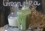 Tự làm trà sữa trà xanh tại nhà cực đơn giản