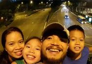 Xúc động những khoảnh khắc ngọt ngào, giản dị của Trần Lập bên gia đình