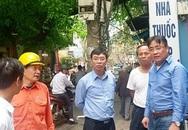 Phường Ô Chợ Dừa, Hà Nội: Sẽ di dời cột điện gây ùn tắc giao thông