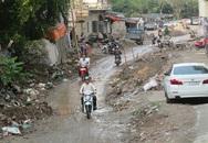 Hà Nội: Dân khốn khổ vì đoạn đường 500m làm hơn 4 năm chưa xong