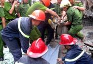 Sập nhà đang thi công, 8 người bị nạn