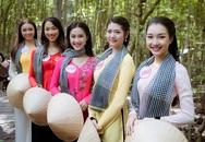 Thí sinh Hoa hậu Việt Nam gặp sự cố khi tham quan đảo khỉ
