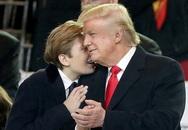 Những khoảnh khắc đáng yêu của con cháu Trump trong lễ nhậm chức