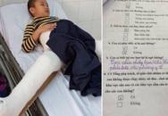 Kết luận điều tra vụ học sinh bị taxi tông gãy chân ở trường tiểu học Nam Trung Yên