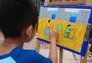 """Cùng trẻ em vẽ tranh """"kể chuyện dinh dưỡng"""""""