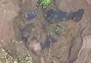 Con gái bàng hoàng thấy thi thể bố trong hố sâu gần nhà