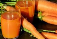 Phòng ngừa khởi phát bệnh tim bằng nước ép cà rốt