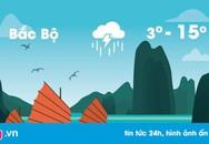 Thời tiết ngày 31/12: Bắc Bộ tiếp tục rét hại, thấp nhất dưới 3 độ C