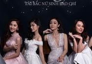 Top 10 nữ sinh cạnh tranh vương miện Hoa khôi trường Báo