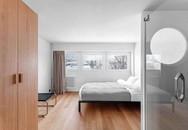 """Chiếc tủ thần kì biến căn hộ 33m² thành rộng """"thênh thang"""" bất ngờ"""