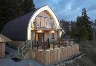 Được xây bằng 500 bó rơm, ngôi nhà gây choáng ngợp bởi thiết kế độc đáo