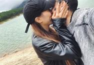 Bạn gái Việt kiều Bỉ khoe ảnh 'khóa môi' Huỳnh Anh