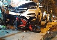 Ô tô lao vỉa hè gây tai nạn kinh hoàng, 6 người thương vong