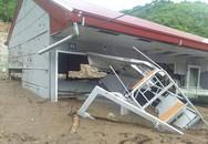 Nhiều trường học Thanh Hóa không thể khai giảng do mưa lũ