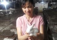 Chị nông dân kiếm 100 triệu đồng/tháng từ nuôi thỏ