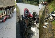 Container mất phanh cuốn theo 4 xe máy trôi xuống dốc khiến 4 người thương vong
