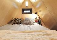 Nhà nhỏ 20m² ấn tượng với phòng ngủ trên gác xép siêu đáng yêu
