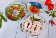 Canh chua cá lóc nấu kiểu miền Nam chua ngọt
