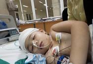 Cô bé 8 tuổi bị u não hiện không nói được, sức khỏe yếu