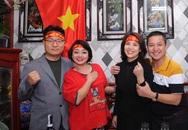 NSƯT Chí Trung, NSND Lan Hương mừng Việt Nam vô địch SEA Games tại nhà nghệ sĩ Trà My