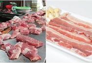 Suốt ngày mua thịt chị em có biết vì sao người bán hàng dùng giẻ để lau thịt chưa?