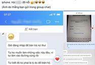 Bi hài chuyện thanh niên trộm iPhone còn hồn nhiên nhắn tin xin mật khẩu để bán máy