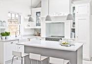 6 ý tưởng để có một căn bếp màu trắng hoàn hảo, ai đến cũng ngất ngây